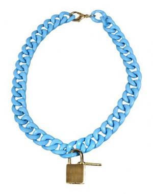 Ожерелье LUCILLE. Цвет: небесно-голубой