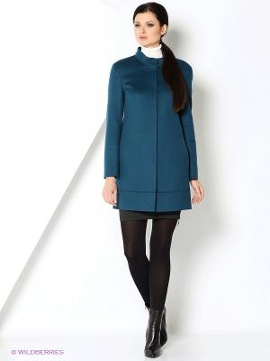 Пальто Gamelia. Цвет: зеленый