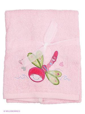 Полотенце Volypok. Цвет: розовый