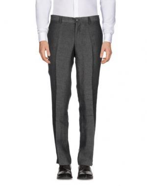 Повседневные брюки TIGER OF SWEDEN. Цвет: стальной серый