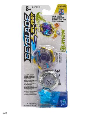 Бейблэйд: волчок Hasbro. Цвет: голубой