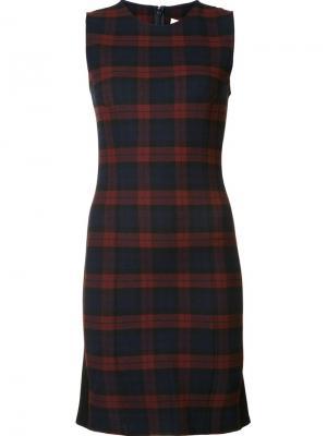 Обтягивающее платье Derek Lam 10 Crosby. Цвет: синий