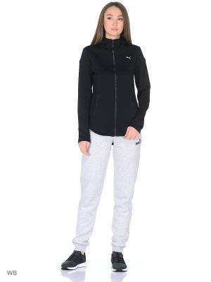 Толстовка Nocturnal Winter Jacket PUMA. Цвет: черный
