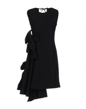 Короткое платье DANIELLE ROMERIL. Цвет: черный