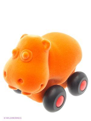 Бегемот Rubbabu. Цвет: оранжевый