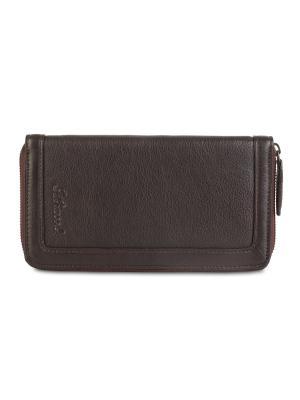 Портмоне Travel wallet Ashwood Leather. Цвет: темно-коричневый, светло-коричневый