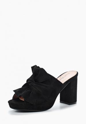 Сабо Sweet Shoes. Цвет: черный
