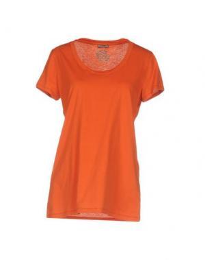 Футболка MALÌPARMI. Цвет: оранжевый