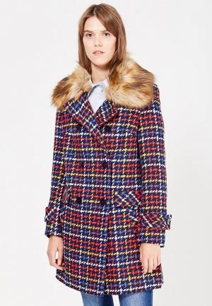 Пальто Naf. Цвет: разноцветный