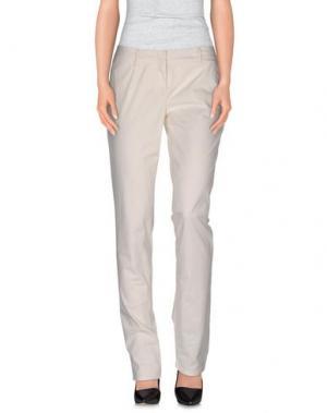 Повседневные брюки SIVIGLIA. Цвет: слоновая кость