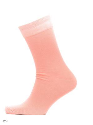 Носки хипстерские (2 пары) HOSIERY. Цвет: розовый