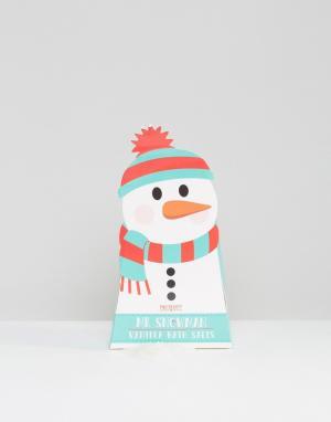 Beauty Extras Соли для ванны в упаковке виде снеговика. Цвет: бесцветный