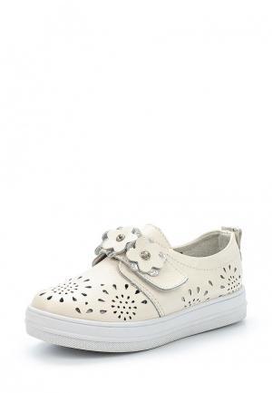 Ботинки Obba. Цвет: белый