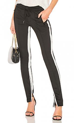 Спортивные брюки Pam & Gela. Цвет: черный