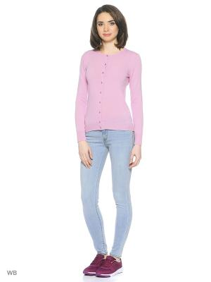 Кардиган United Colors of Benetton. Цвет: бледно-розовый, розовый