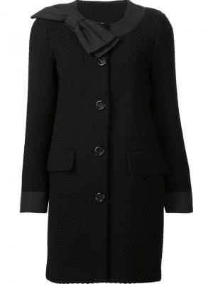 Пиджак с бантом Boutique Moschino. Цвет: синий
