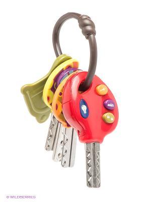 Набор электронных ключиков Battat. Цвет: серый, розовый, желтый