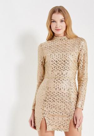 Платье Glamorous. Цвет: золотой