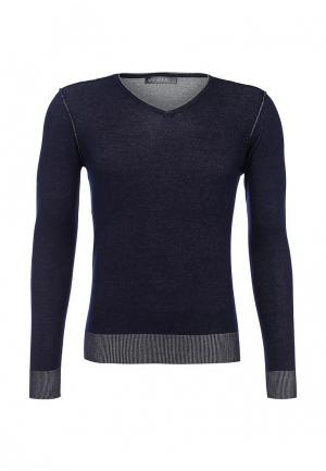 Пуловер New Brams. Цвет: синий