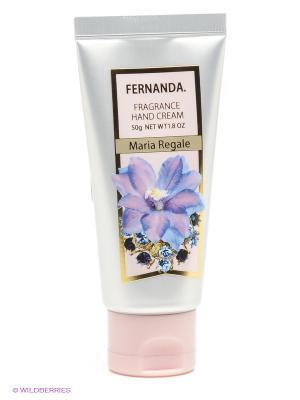 Парфюмированный крем для рук Мария Регаль FERNANDA 50 гр.. Цвет: серебристый