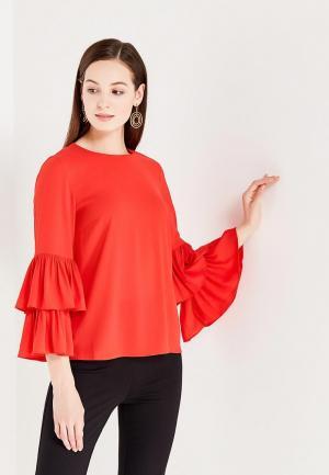 Блуза Vero Moda. Цвет: красный
