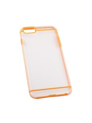 Защитная крышка для iPhone 6/6s Plus LP (оранжевая с полосками/прозрачная задняя часть) Liberty Project. Цвет: прозрачный, оранжевый
