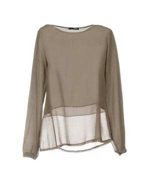 Блузка B.YU. Цвет: хаки