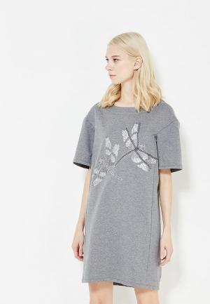 Платье Blugirl Folies. Цвет: серый