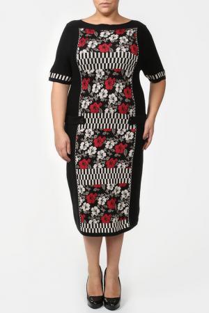 Платье G.Forte. Цвет: мультицвет