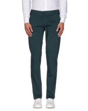 Повседневные брюки MASSIMO BRUNELLI. Цвет: цвет морской волны
