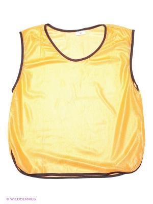 Майка спортивная MAD GUY. Цвет: оранжевый