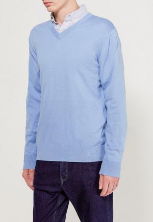 Пуловер Gap. Цвет: голубой