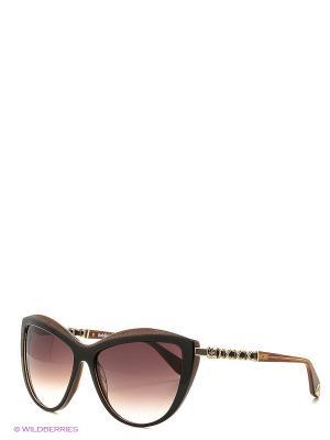 Солнцезащитные очки BLD 1615 101 Baldinini. Цвет: коричневый, золотистый