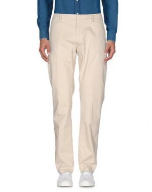 Повседневные брюки TRUE NYC.. Цвет: слоновая кость