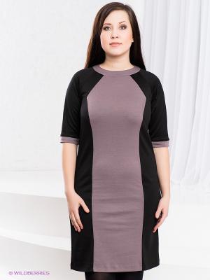 Платье Klimini. Цвет: черный