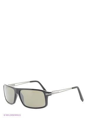 Солнцезащитные очки Serengeti. Цвет: темно-зеленый