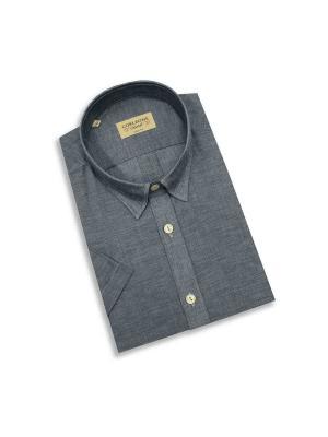 Рубашка мужская Corleone.. Цвет: серый
