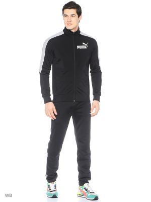 Костюм спортивный  T7 Graphic Tricot Suit op Puma. Цвет: черный