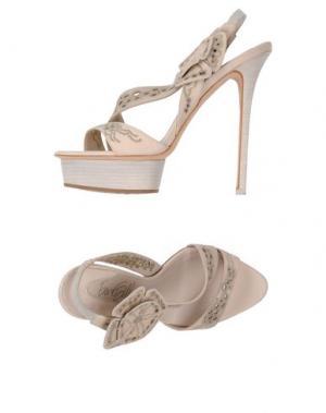 Сандалии ENIO SILLA for LE. Цвет: светло-розовый