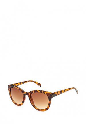 Очки солнцезащитные Bestia. Цвет: коричневый