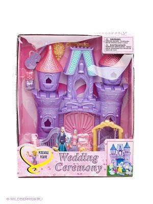 Игровой набор Свадебная церемония VELD-CO. Цвет: фиолетовый, розовый