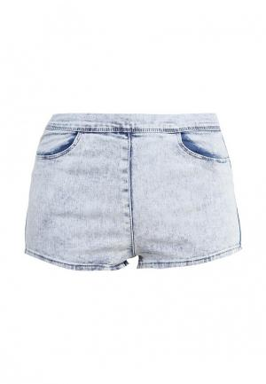 Шорты джинсовые Jennyfer. Цвет: голубой