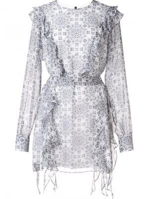 Платье Summer Thomas Wylde. Цвет: белый