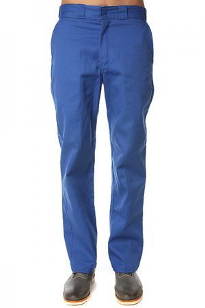 Штаны прямые  Original 874 Work Pant Rb Royal Blue Dickies. Цвет: синий