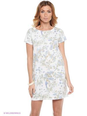 Платье CLABIN. Цвет: молочный