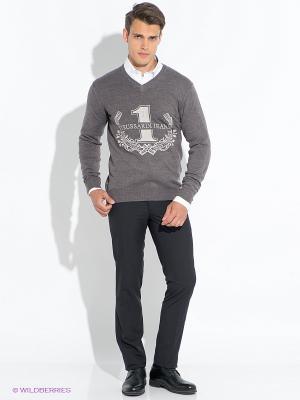 Пуловер Trussardi. Цвет: серый