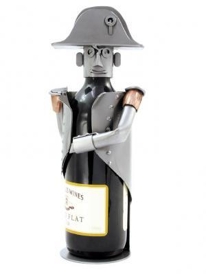 Украшение для бутылки Наполеон Hinz&Kunst. Цвет: темно-серый
