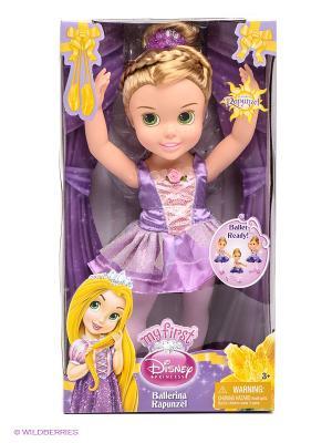 Кукла Малышка Принцесса Disney - балерина Рапунцель Jakks. Цвет: сиреневый