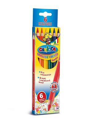 Набор карандашей цветных CARIOCA JUMBO, 6 цв Universal. Цвет: синий