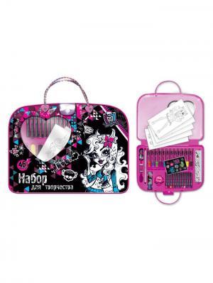 Набор-сумочка, 46 предметов, Mattel Monster High. Цвет: черный